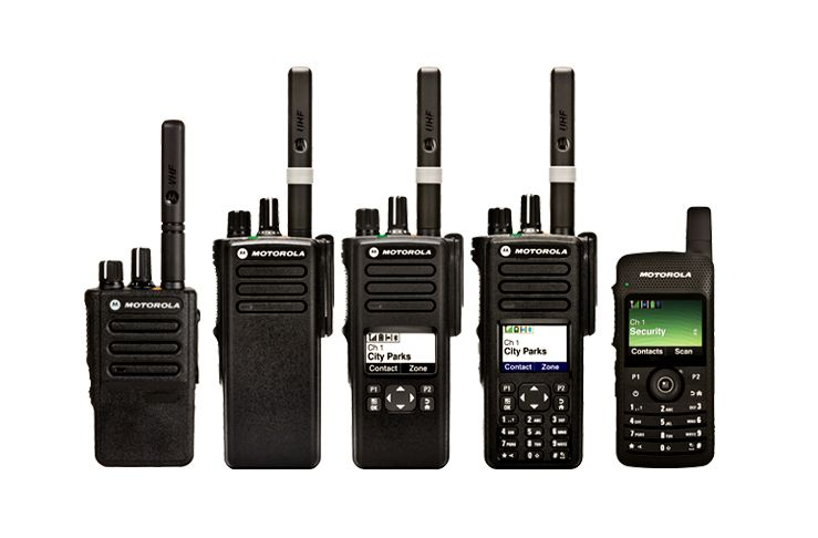 Motorola radio options